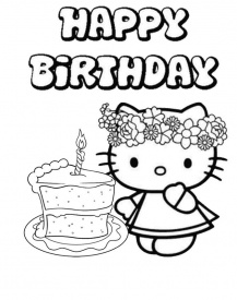 12 Happy Birthday Hello Kitty