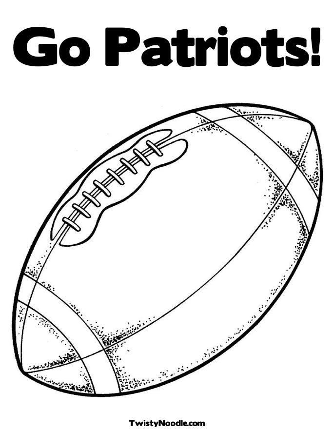 Coloring Pages New England Patriots Coloring Pages New England