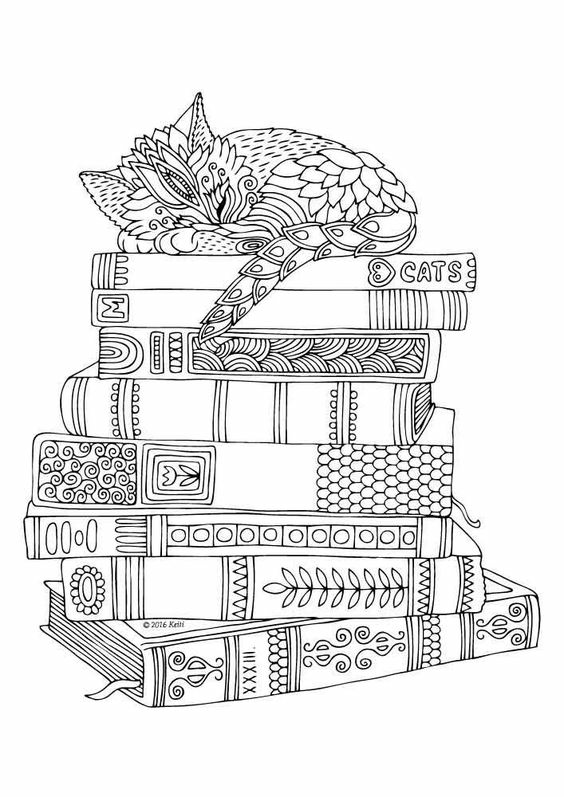 Kitten Colouring Page