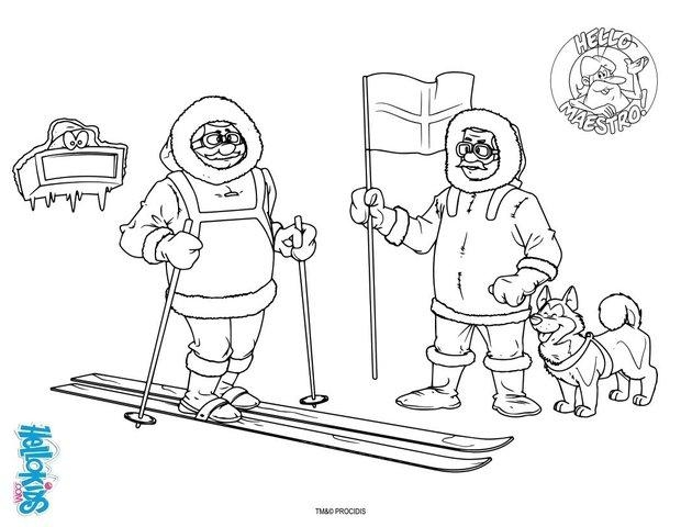 The Tundra Coloring Pages