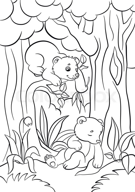 Coloring Pages Wild Animals Two