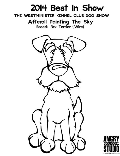Free Coloring Page Best In Show Afterall Painting The Skywire
