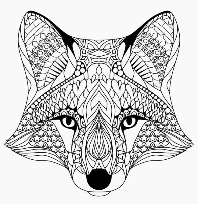 Fox Coloring Pages  Coloringrocks