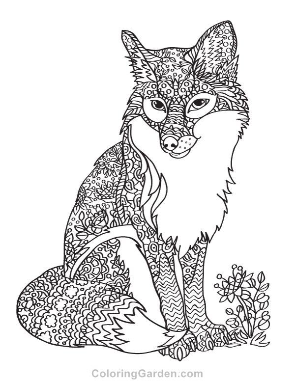 Pin On Adult Coloring Pages At Coloringgardencom
