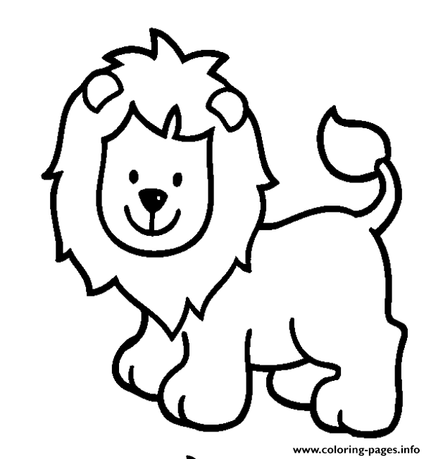 Print Lion S For Girls Animalsa Coloring Pages