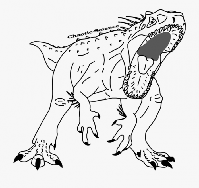 Indominus Rex Coloring Pages
