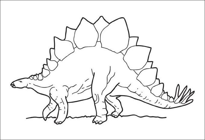 Realistic Dinosaur Coloring Pages Pdf