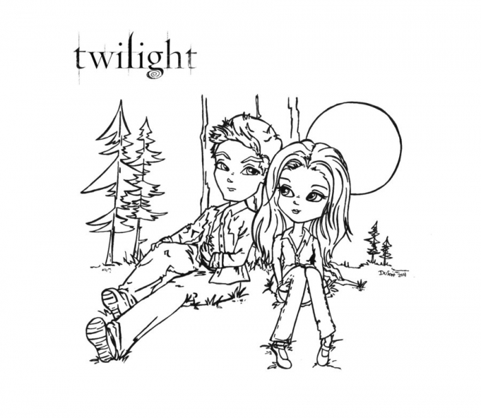 Coloring Pages Of Twilight