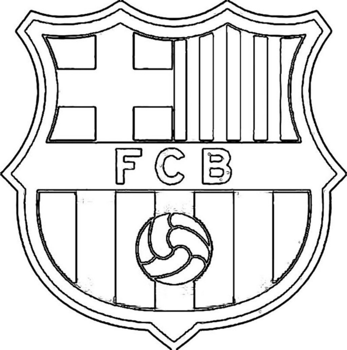 Barcelona Coloring Pages