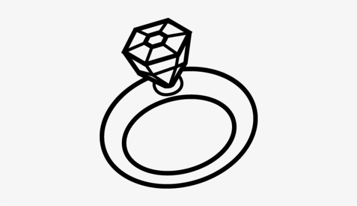 Kids Wedding Ring Coloring Pages